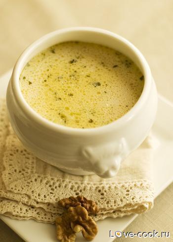 Грибной суп-суфле