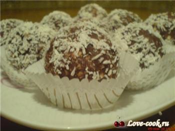 Пирожное Кокос-картошка От Колпаковой Маши