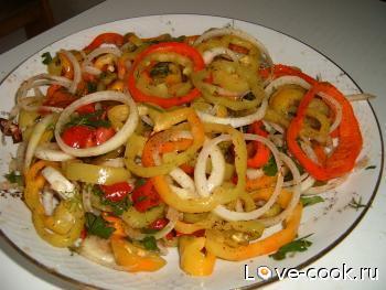 Салат Три перца